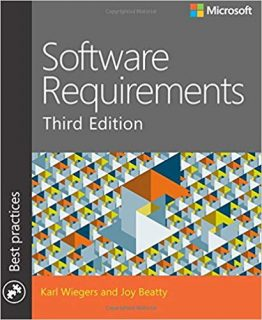 Software Requirements Book